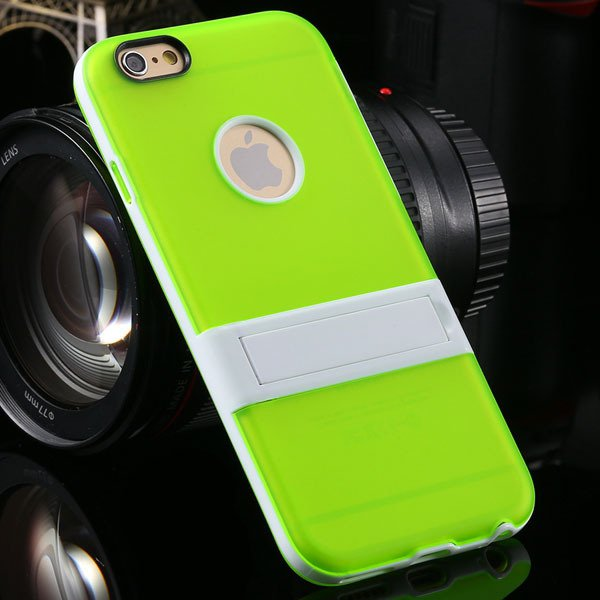 Amazing Triangle Bracket Case For Iphone 6 4.7'' Back Phone Shell  2046192931-7-green