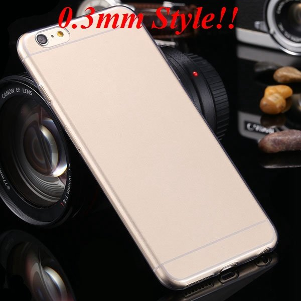 I6 Plus Tpu Clear Case Ultra Thin Flexible Soft Cover For Iphone 6 32237203163-8-Thin gray