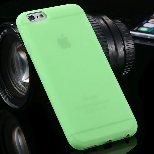 Ultra Thin Soft Silicone Cover For Iphone 6 4.7Inch Back Phone Hou 2053591358-7-green
