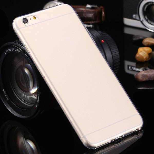 Newest 0.3Mm Ultra Thin Soft Tpu Clear Case For Iphone 6 Plus 5.5' 2021451886-4-clear
