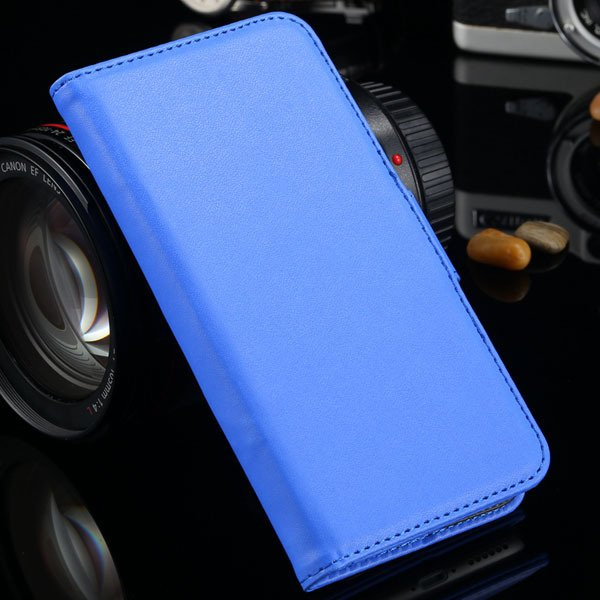 I6 Flip Case Photo Frame Pu Leather Cover For Iphone 6 4.7Inch Ful 2016906622-7-blue