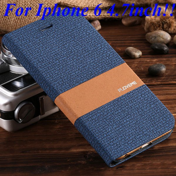 I6/6 Plus Luxury Original Brand Pu Leather Case For Iphone 6 4.7In 32276577085-4-blue for iphone 6