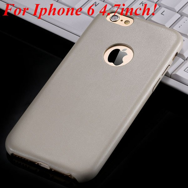 I6 Slim Case Original Ultra Thin Pu Leather Cover For Iphone 6 4.7 32261009616-3-beige for iphone 6