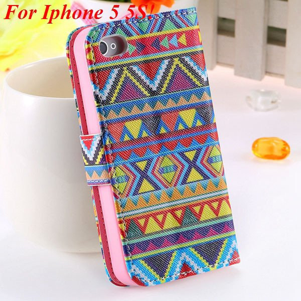 Cute Animal Structure Flip Wallet Case For Iphone 5 5S 5G 4 4S 4G  1925524274-10-5s big culture