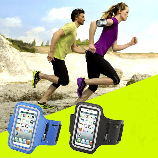Blue Waterproof Sport Armband Cover For Iphone 6 4.7'' Gymnasium E 2046823511-1-