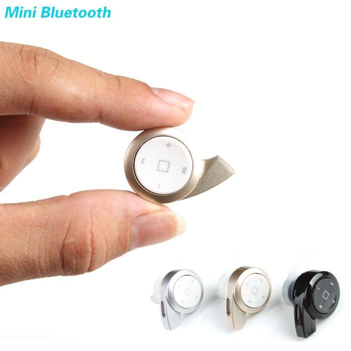 New 2014 Stereo Headset Bluetooth Earphone Headphone Mini V4.0 Wir 2052599763-1-Black