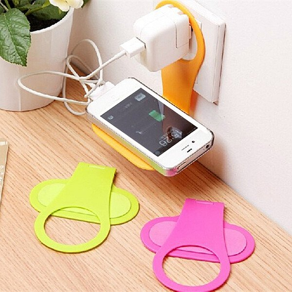 Convenient Mobile Foldable Designed Cell Phone Holder Wall Charger 32260473685-1-
