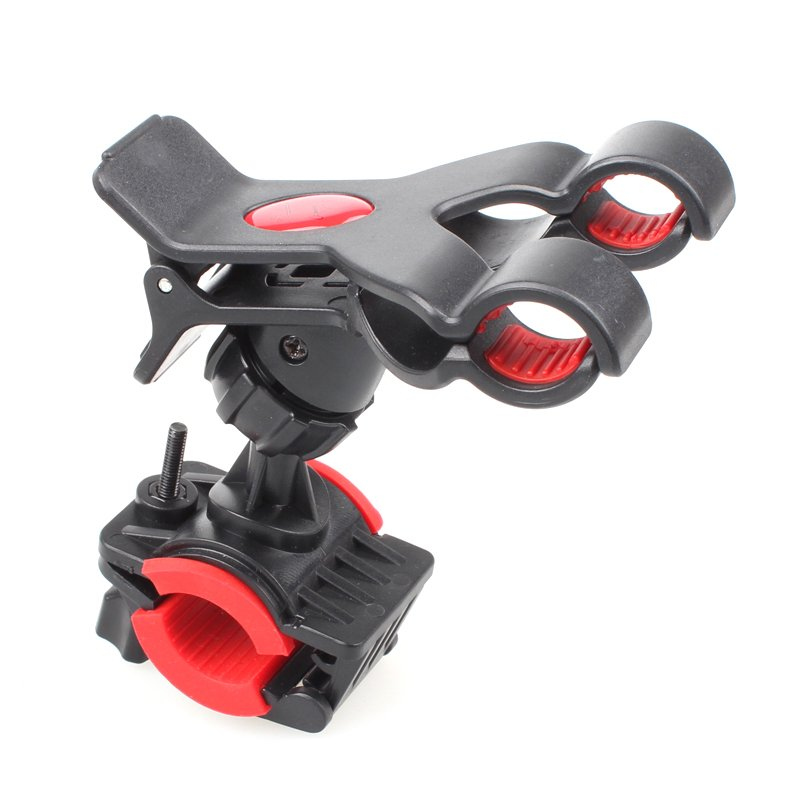 Bike Bicycle Motocycle Dual Clip Holder Handlebar Bracket Stand Fo 32242620331-1-