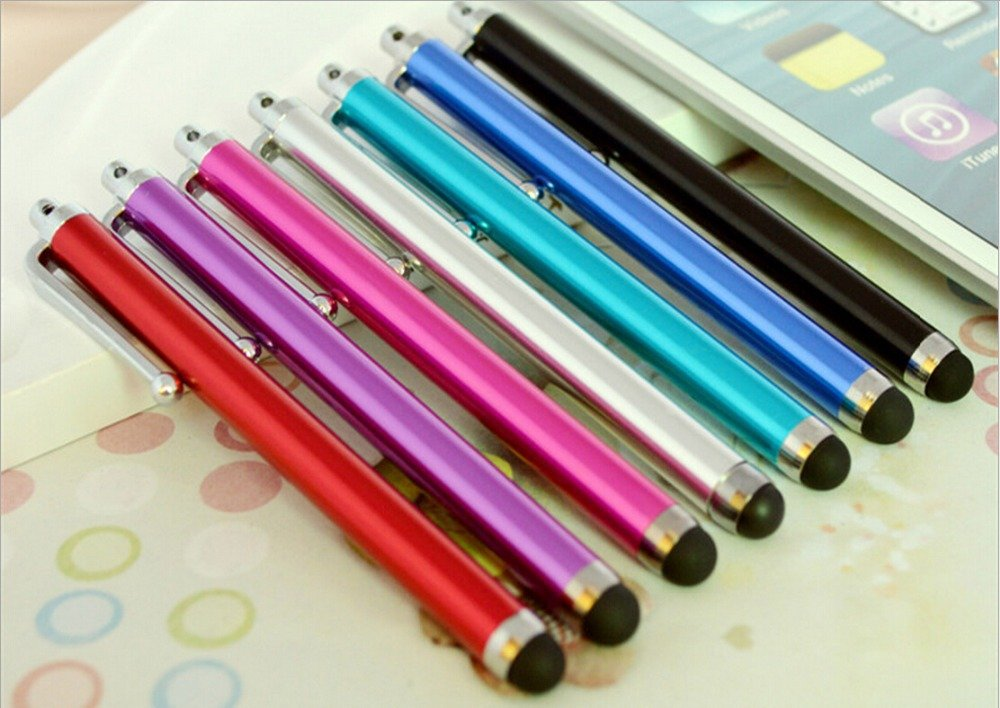 1Pcs/Lot Ping Touch Screen Pen Stylus For Iphone ,Tablet,Laptps Ot 2040525350-11-Silver