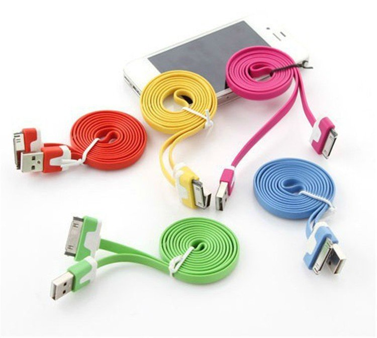 Colorful Usb To 30 Pin Charger Cable Adapter Dock Cables Cabo Kabe 1742479779-1-