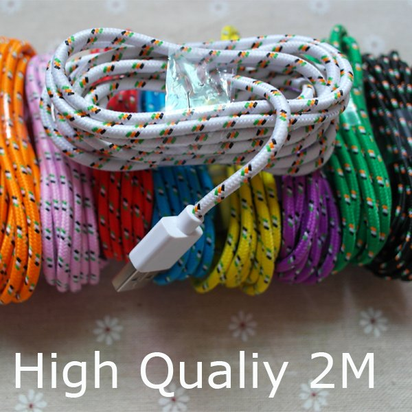 2Meter/6Ft High Quality 8Pin Usb Data Sync Charging Cable Cords Fo 2008845377-1-