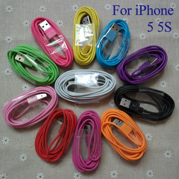 1M/3Ft High Quality Colorful Usb Sync Data Charging Charger Adapte 2009256867-1-