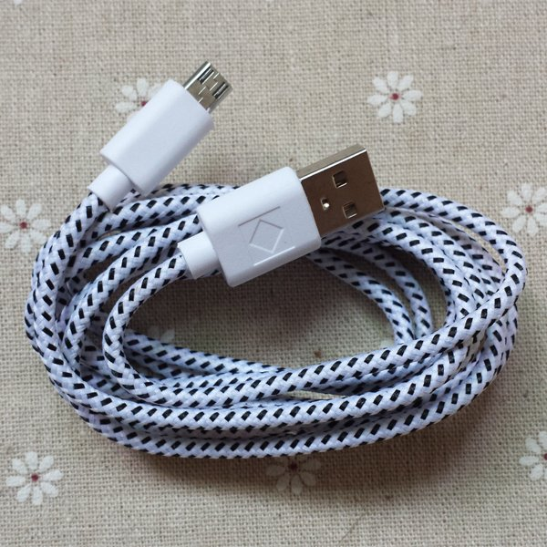 2M/6Ft Micro Usb Braided Wire Cable Sync Nylon Woven Charging Char 2008323957-1-
