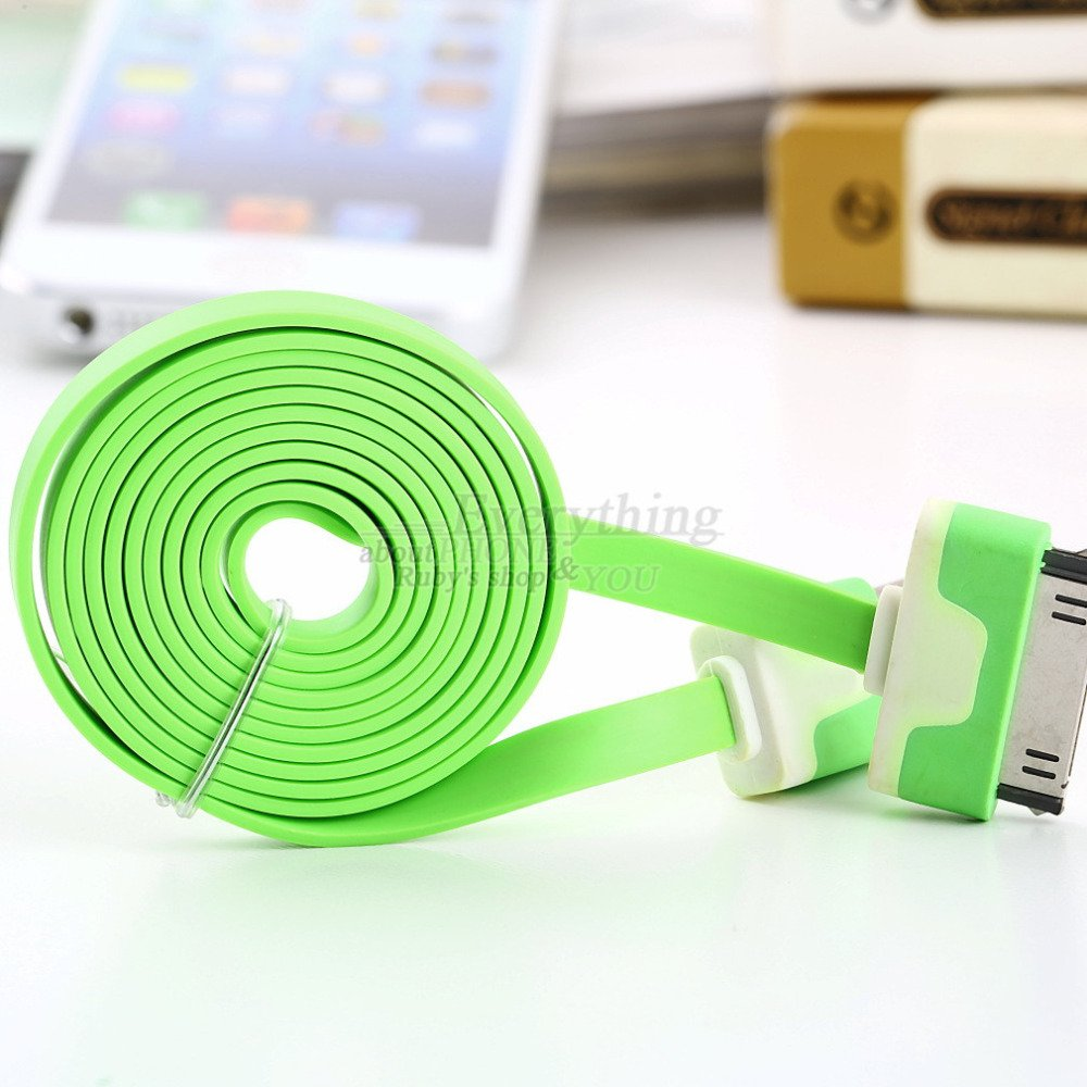 1M 3Ft Usb Charging Charger Sync Data Cable Cord For Apple For Ipa 1604894292-1-