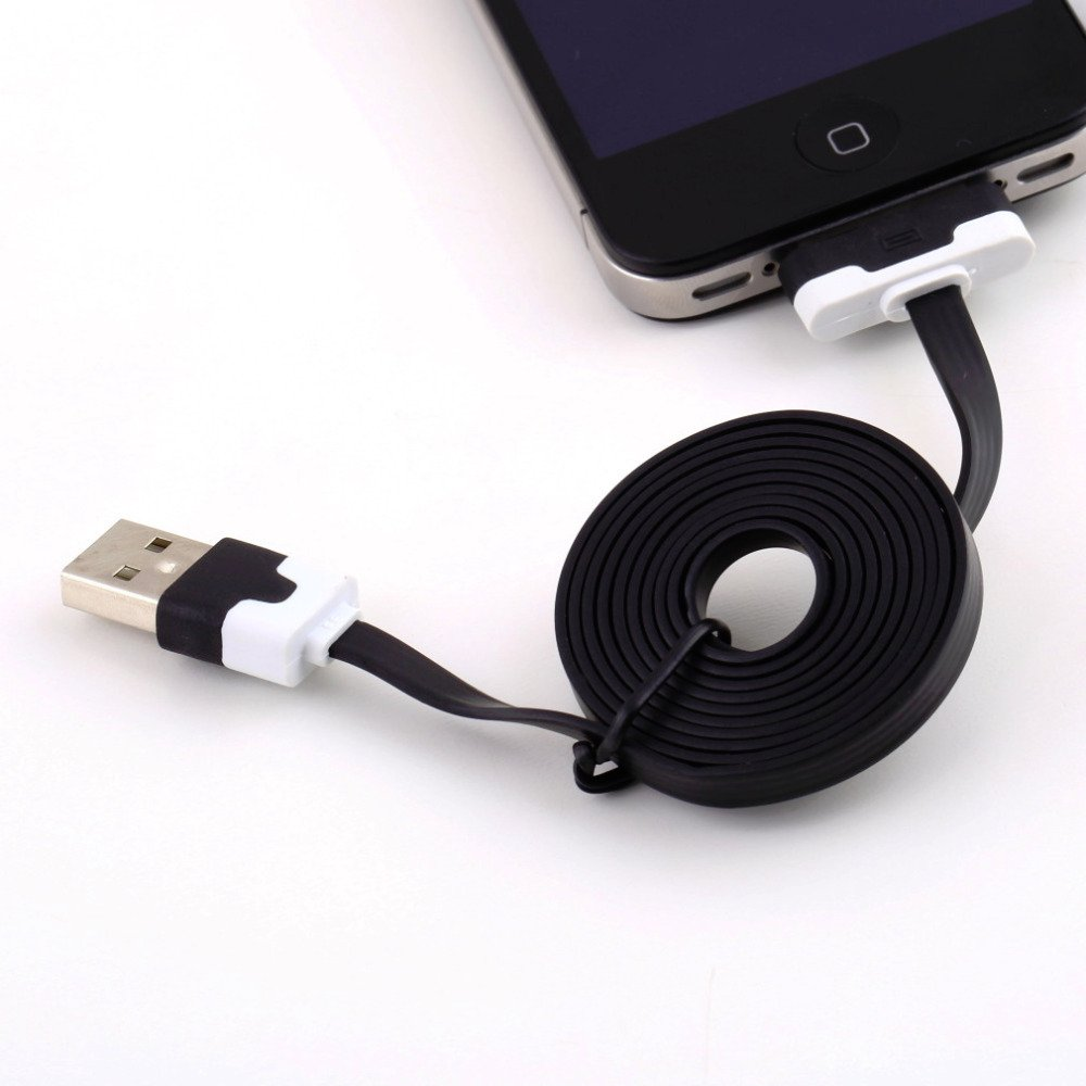 1M Flat Usb Charging Data Sync Cable For Apple For Ipod For Ipad 3 821688866-1-