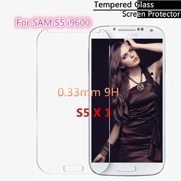 0.33Mm For Samsung Galaxy S5 Tempered Glass Screen Protector I9600 2015205388-1-
