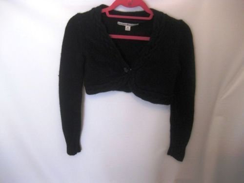 EUC Woman's Small Tommy Hilfiger Black Long Sleeve Sweater Top