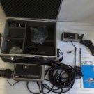 Vintage Toshiba Color Video Camera IK-1610 w/ Metal Camera Storage Case