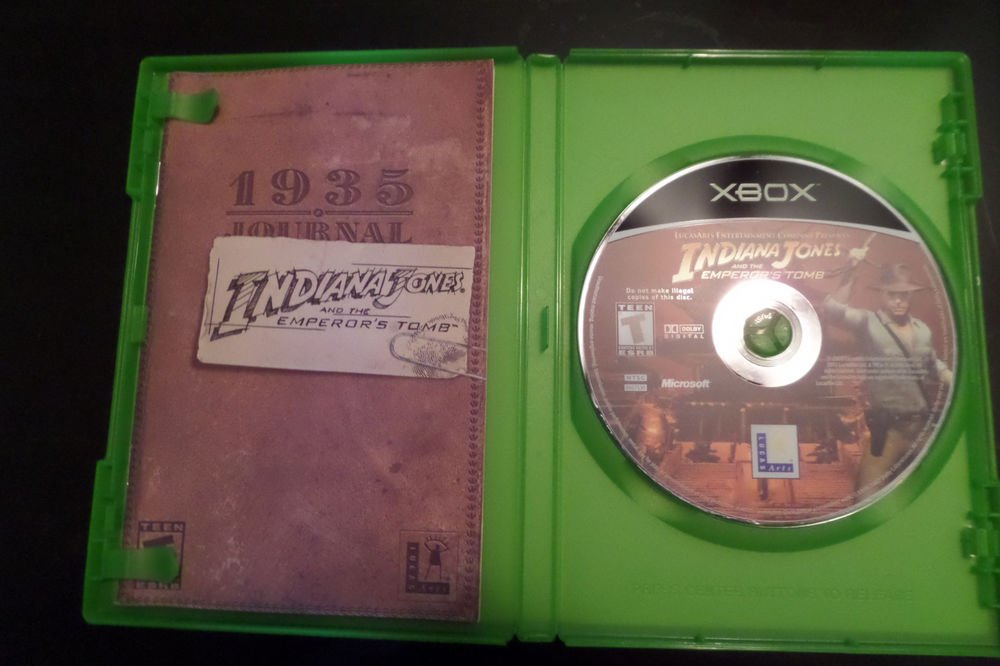 Indiana Jones and the Emperor's Tomb (Microsoft Xbox, 2003)