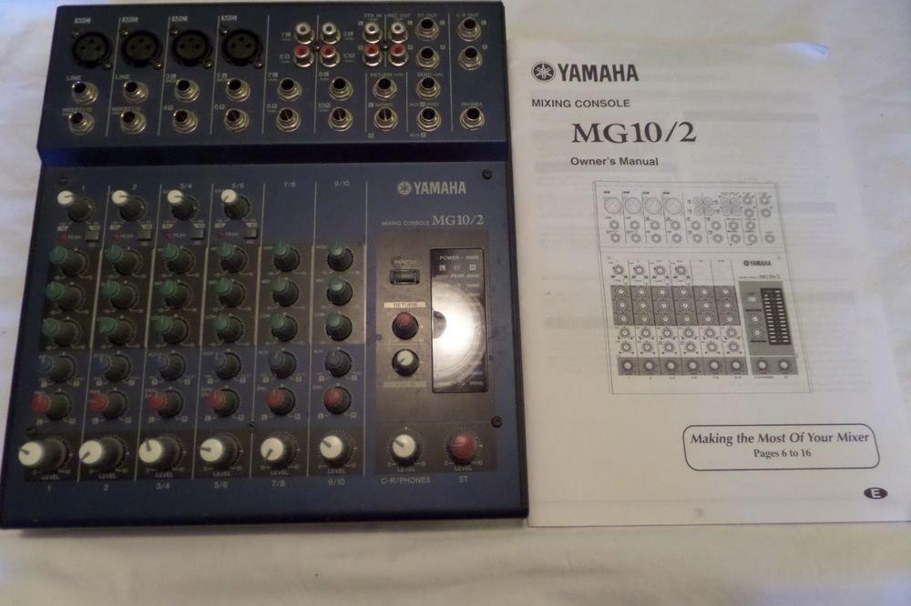 Yamaha Mixing Console Model MG 10/2