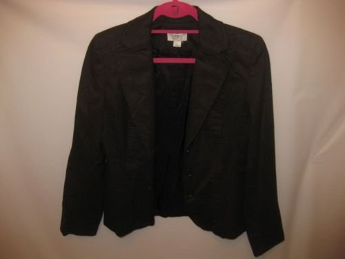 EUC Brown Jacket Ann Taylor Loft Size 4