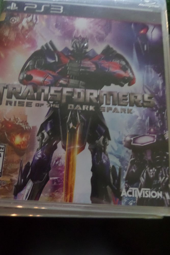 Transformers: Rise Of The Dark SPark - Cybertron Autobots Decepticons PS3 NEW