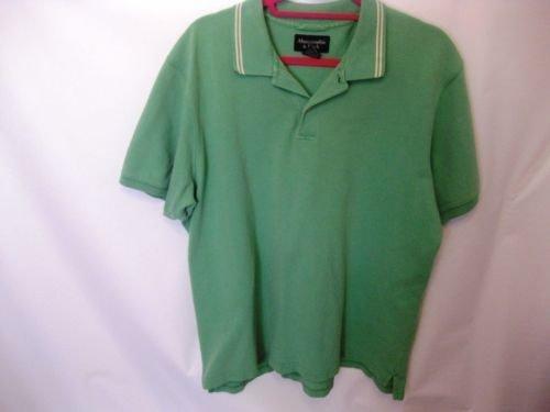 EUC Men's XL Abercrombie & Fitch Light Green Cotton Polo Shirt