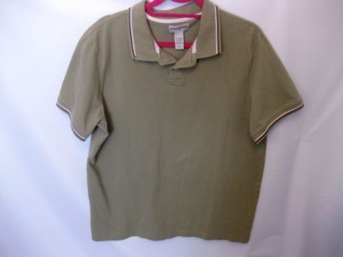 EUC Men's XL Banana Republic Green Cotton Polo Shirt