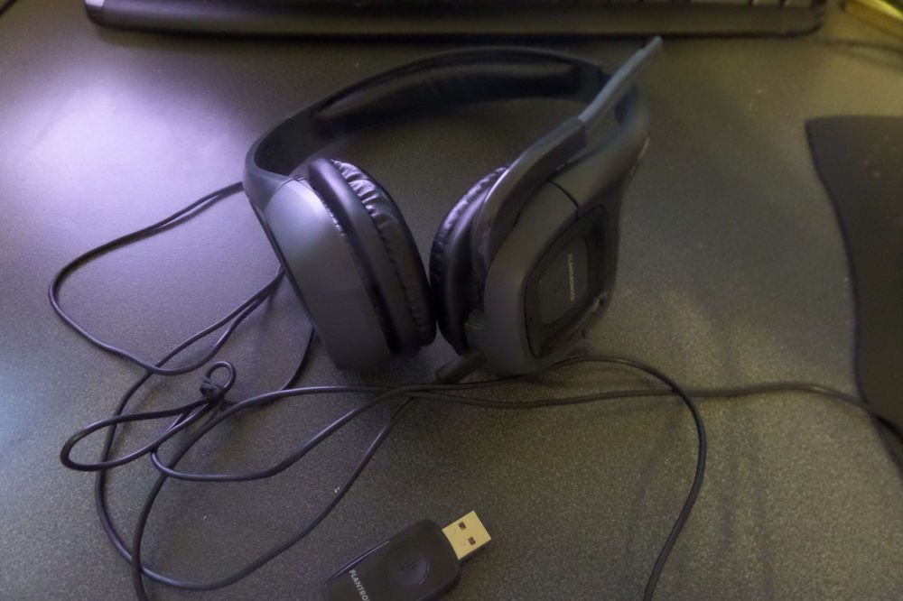 Plantronics Audio 655 DSP Black Headband Headsets