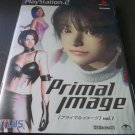 Primal Image Vol. 1 (Sony PlayStation 2, 2000) Japan Import