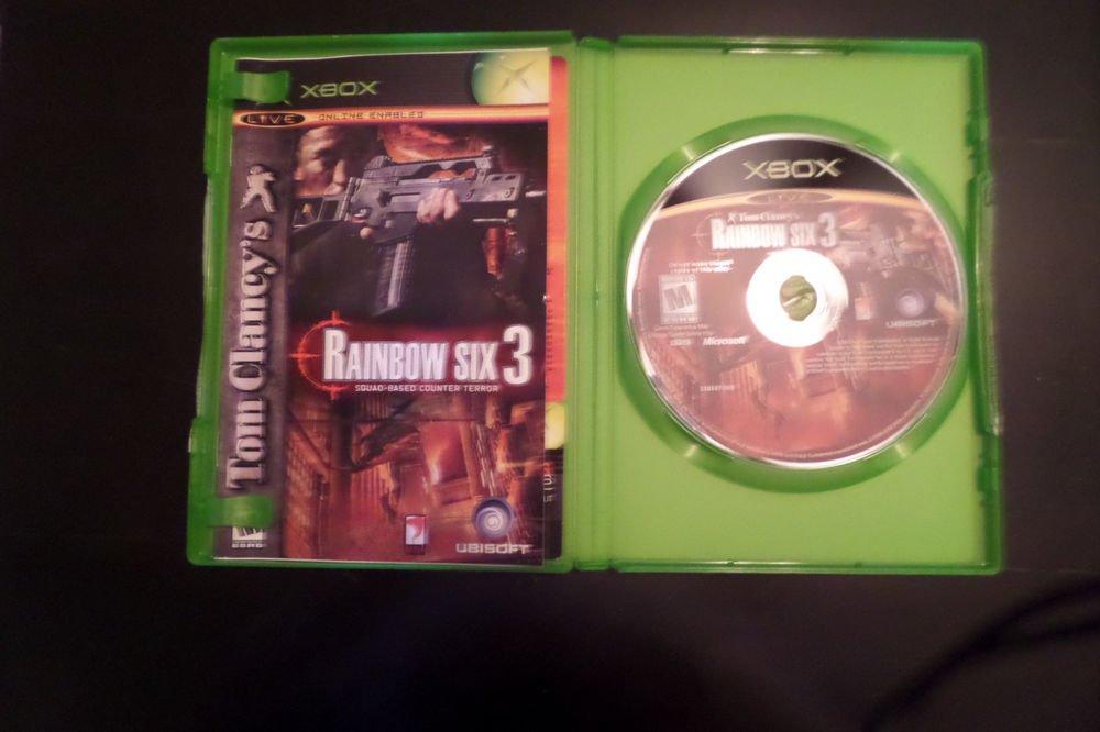 Tom Clancy's Rainbow Six 3  (Xbox, 2003)