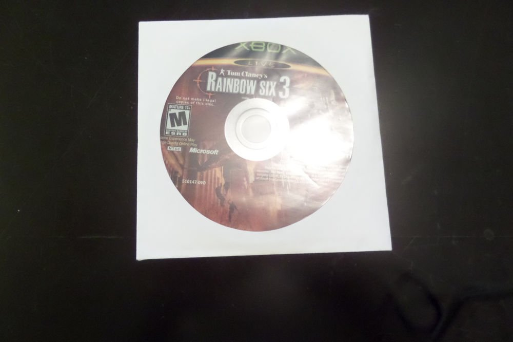 Tom Clancy's Rainbow Six 3 (Microsoft Xbox, 2003)