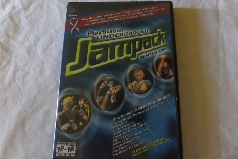 PlayStation Underground Jampack: Winter 2001 (Sony PlayStation 2, 2001)