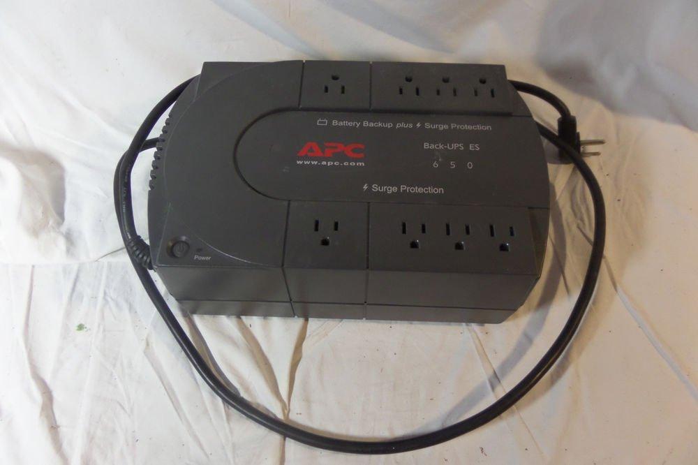 APC DL650T Back-UPS 650 8-outlet Uninterruptible Power Supply