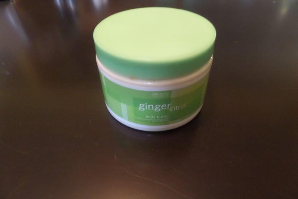ARBONNE Ginger Citrus Body Butter Cream Green Label 12 oz 340 g New Sealed