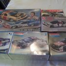 MONOGRAM REVELL Nascar Model Kits LOT of 5 and SnapTite Rusty Wallace