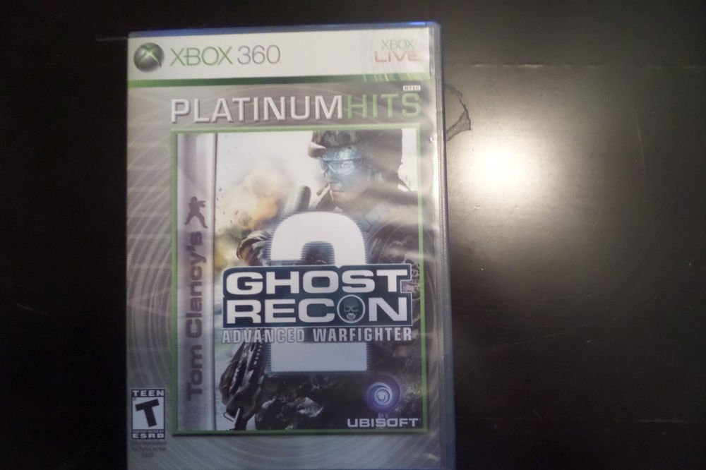 Tom Clancy's Ghost Recon: Advanced Warfighter 2 Platinum Hits Microsoft Xbox 360