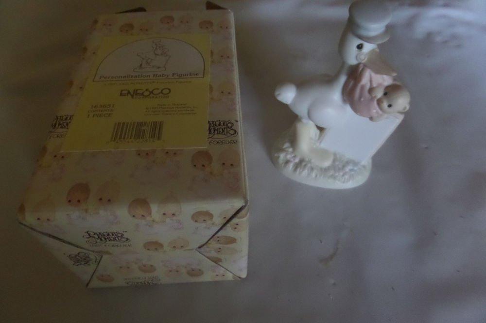 Precious Moments 1995 Personalization Baby Figurine 163651