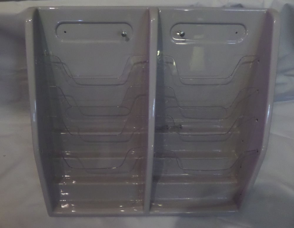 Countertop/Wall Mount 8 Slot Literature Holder Deflecto 52209 DEF52209
