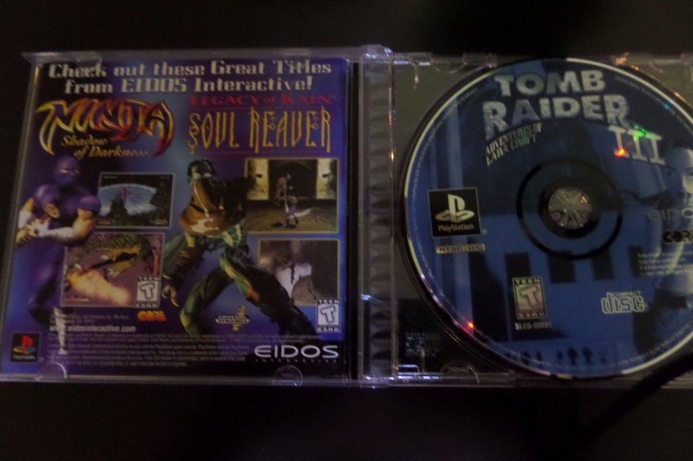 Tomb Raider III: Adventures of Lara Croft (Sony PlayStation 1, 1998)