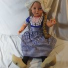 2 Feet Tall Swedish Clogs Movable Doll