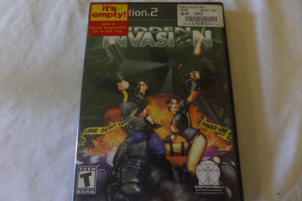 Hidden Invasion (Sony PlayStation 2, 2002)
