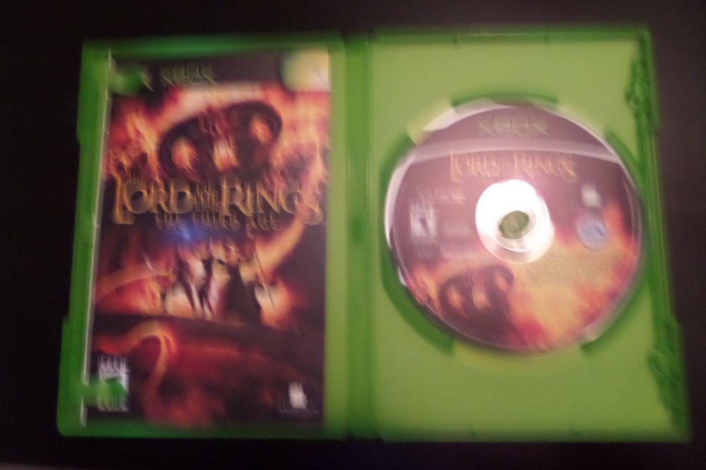Lord of the Rings: The Third Age (Microsoft Xbox, 2004)