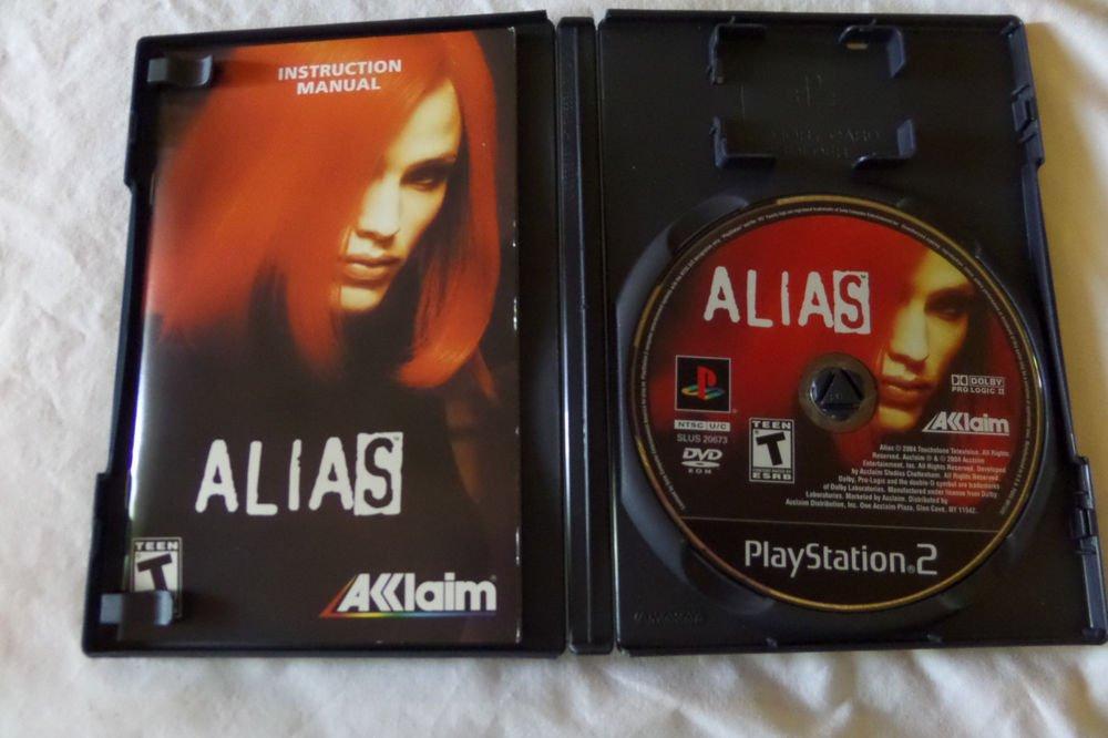 Alias (Sony PlayStation 2, 2004)