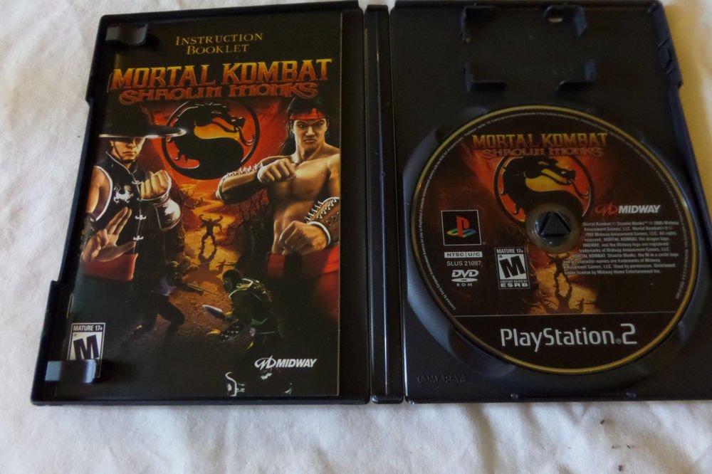 Mortal Kombat: Shaolin Monks (Sony PlayStation 2, 2005)