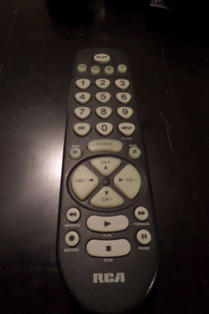 RCA RCR450C 4 Device Universal Remote Control