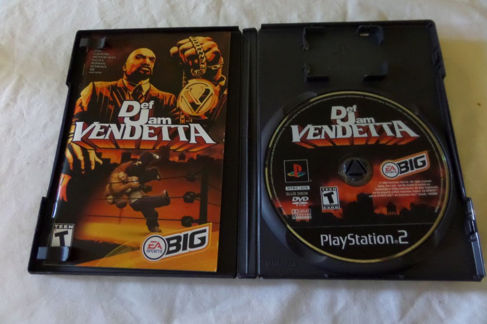 Def Jam Vendetta (Sony PlayStation 2, 2003)