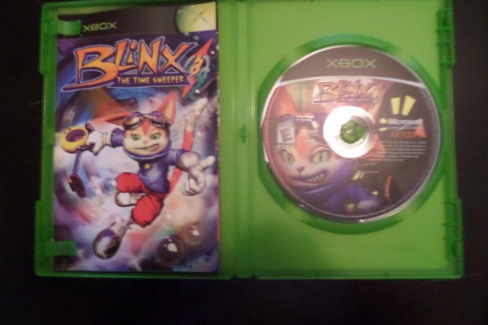 Blinx: The Time Sweeper (Microsoft Xbox, 2002)