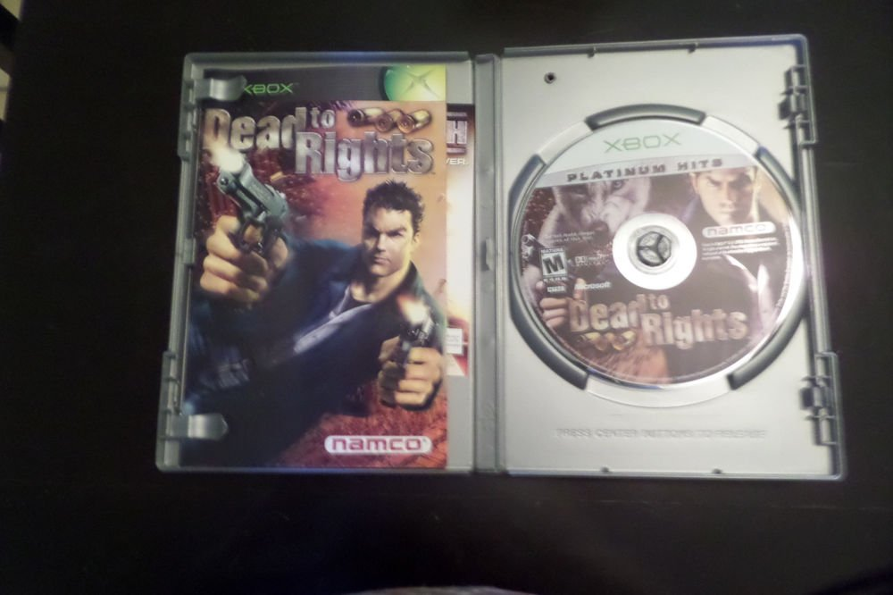 Dead to Rights - Platinum Hits (Microsoft Xbox, 2004)