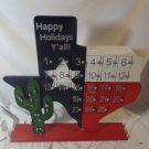 St. Nicholas Square Christmas Texas Advent Calender Kohls